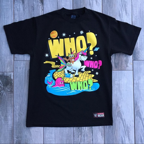 """WWE Other - WWE New Day """"Who Who Who"""" Tee"""